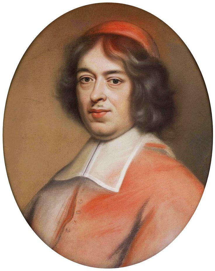Pastel portrait of Primate Michał Stefan Radziejowski by Jan Reisner, 1695-1700 (PD-art/old), Muzeum Narodowe w Warszawie (MNW)