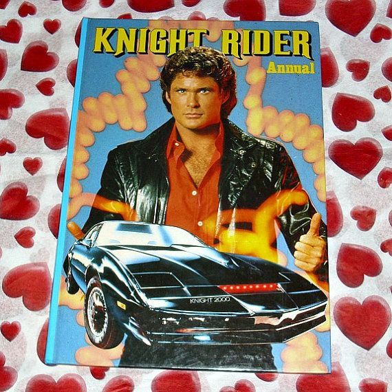 Knight Rider Official Annual TV Memorabilia by WelshGoatVintage - SOLD OUT