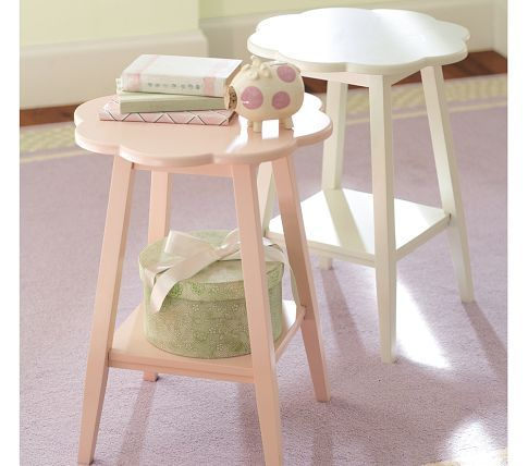 Small Side Table For Baby Girl S Nursery Miss Tessa
