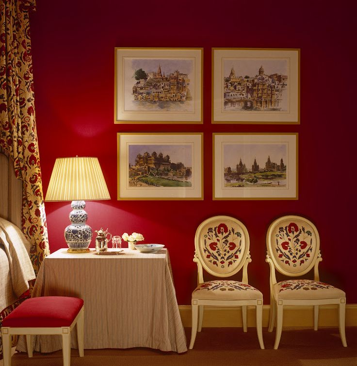 bedside skirted table, bench and seating ~ John Stefanidis design