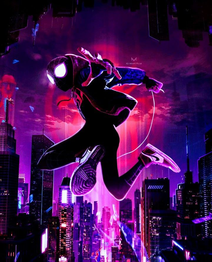 Unique Iphone Wallpapers: Ultimate Spider-Man, Into The Spider-Verse