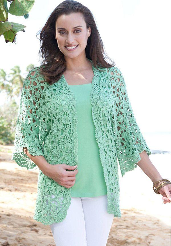 Plus Size Crochet Tunic Crochet Cardigan Pattern Free