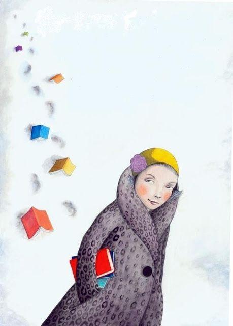 Each story leaves its mark / Cada lectura deja su huella (ilustración de Sophie Blackall)