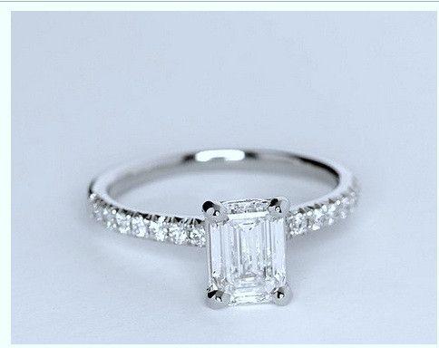 1000 Ideas About Emerald Cut Diamonds On Pinterest