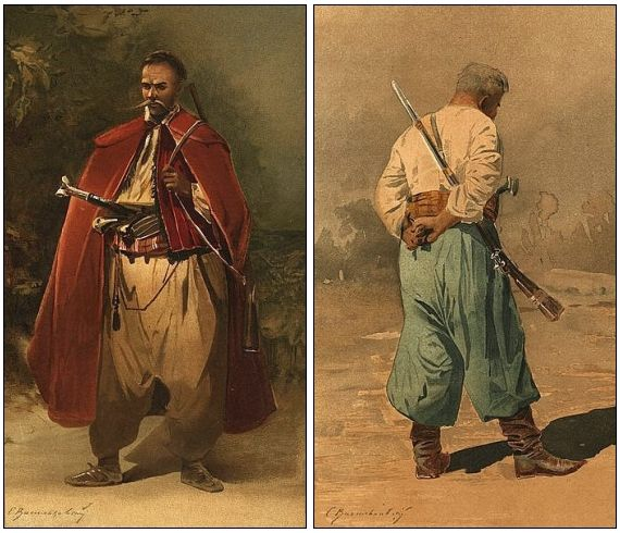 Early Cossacks, 16th century Russia
