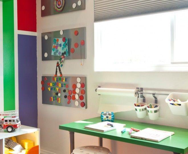 kids desk area ideas | Corner Desk Ikea look San Francisco Midcentury Kids Innovative Designs ...