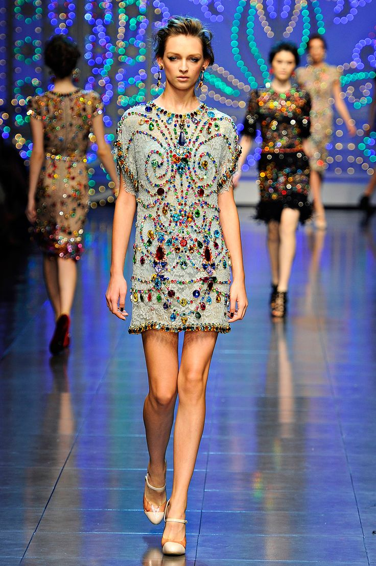 Pretty much anything from Dolce & Gabbana SS12.