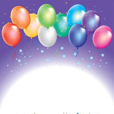 Doğum günü kutlamaları için kartpostal seçenekleri