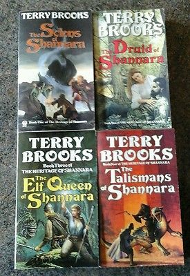 Image result for the heritage of shannara books
