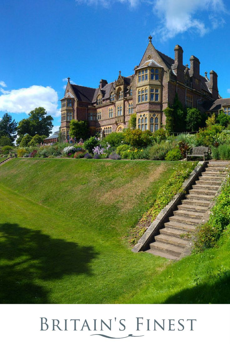 Explore Knightshayes Court--    Knightshayes Court, designed by William Burges, is a gothic Victorian building dating from 1869, and a rare survival of his work. The house is entered under a carved porch by Thomas Nicholls.