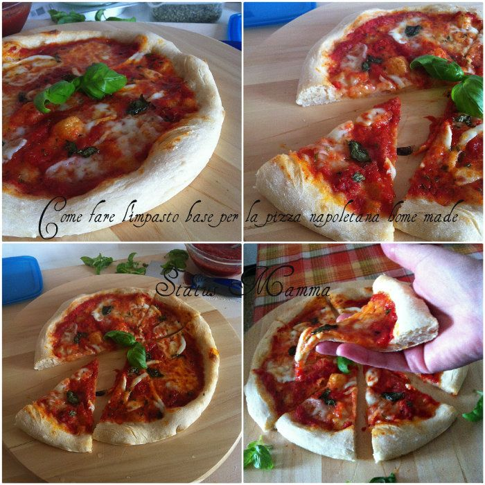 Come fare l'impasto base per la pizza napoletana home made
