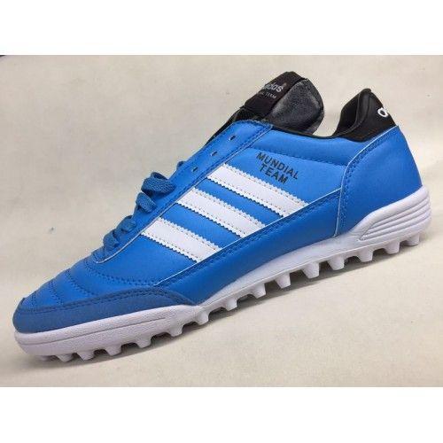 Adidas Mundial Team Astro - Chuteira Society 2017 Adidas Mundial Team Astro Azul Comprar
