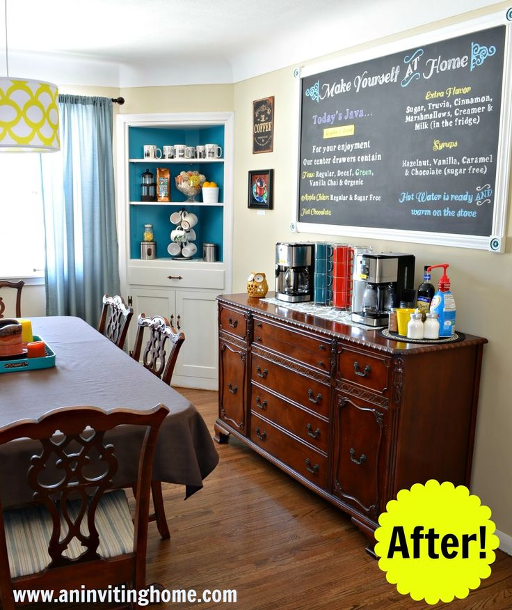 Home Coffee Bar Design Ideas: 30 Best Kitchen Coffee Bar Ideas Images On Pinterest