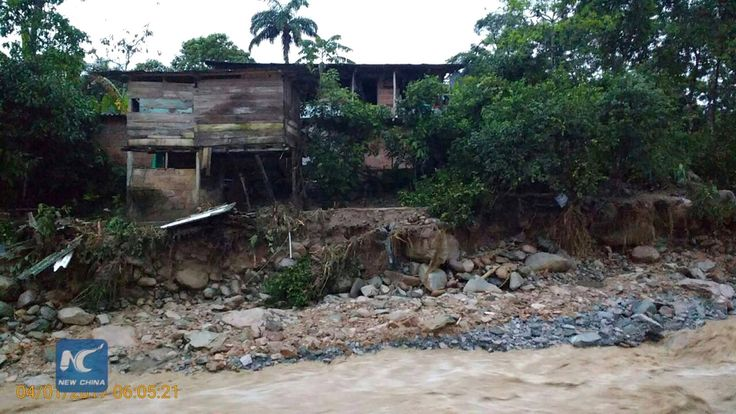 At least 112 people were killed in landslide caused by floodwaters in Mocoa, southern #Colombia. Colombian President Juan Manuel Santos warned that the death toll could rise as the search for survivors went on.