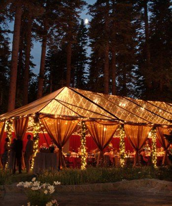 String Lights For Outdoor Tents : 25+ best ideas about Outdoor Evening Weddings on Pinterest Evening wedding receptions, Barn ...