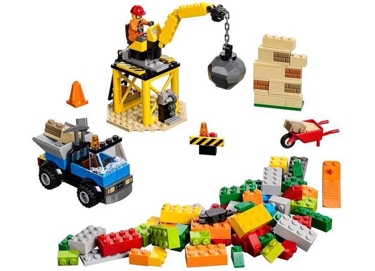 LEGO Juniors - Santier de constructii (10667), jucarii LEGO ieftine de Craciun