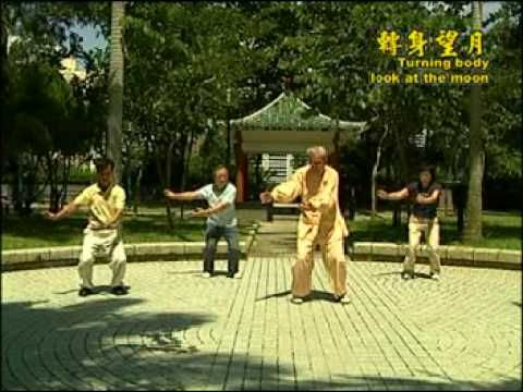 Tai Chi Qigong (Shibashi) Part 1. - 18 Movements (10 mins.) - YouTube