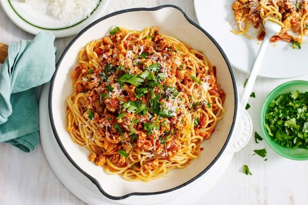 Prepare an Italian family feast with this tender chicken and bacon ragu created by Michael Weldon, MasterChef Australia Series 3 contestant.