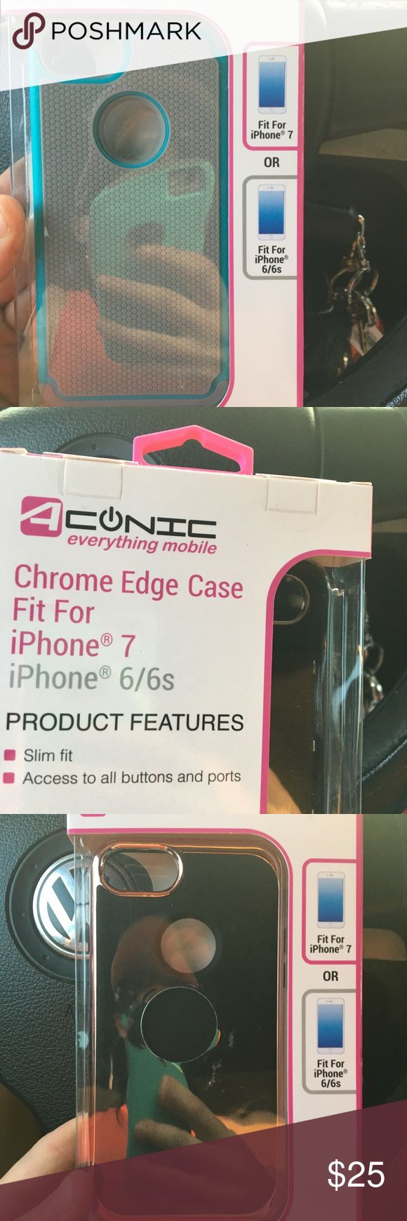NEW IPHONE CASES 6/6s/7/7plus BUY 1 for $5, 2 for $9 3 for $12 or all 6 for $20! And I'll add in a brand new charger OR new headphones for FREE Accessories Tablet Cases
