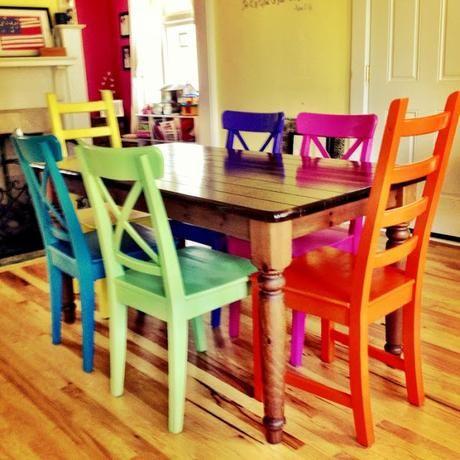 Oltre 25 fantastiche idee su vecchie sedie su pinterest for Sedie per sala da pranzo classiche