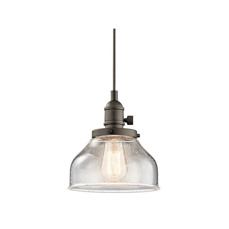 View the Kichler 43850OZ Olde Bronze Avery 1 Light Pendant at Build.com.