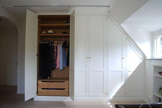 inbyggd garderob snedtak - Sök på Google  huset  Pinterest
