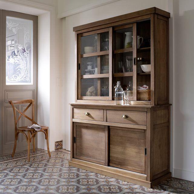 Image LUNJA Solid Pine 2 Sliding Door Dresser La Redoute Interieurs