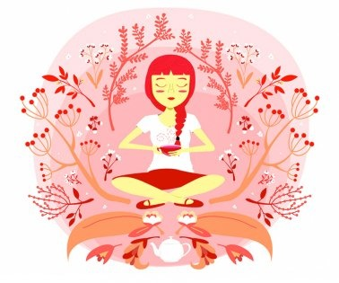 1000+ images about Yoga illustrations on Pinterest