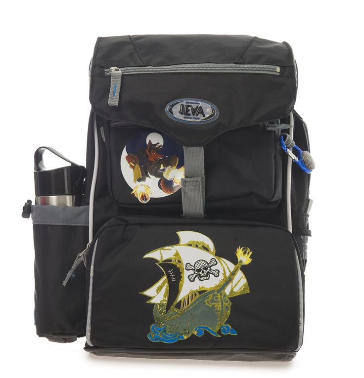 De sejeste Jeva Beginners skoletaske, 0-2 klasse, Ocean Jeva  til Skoletasker til børn til hverdag og til fest