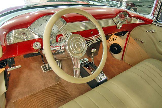 1955 Chevrolet Bel Air 2 Door Hardtop Dash View