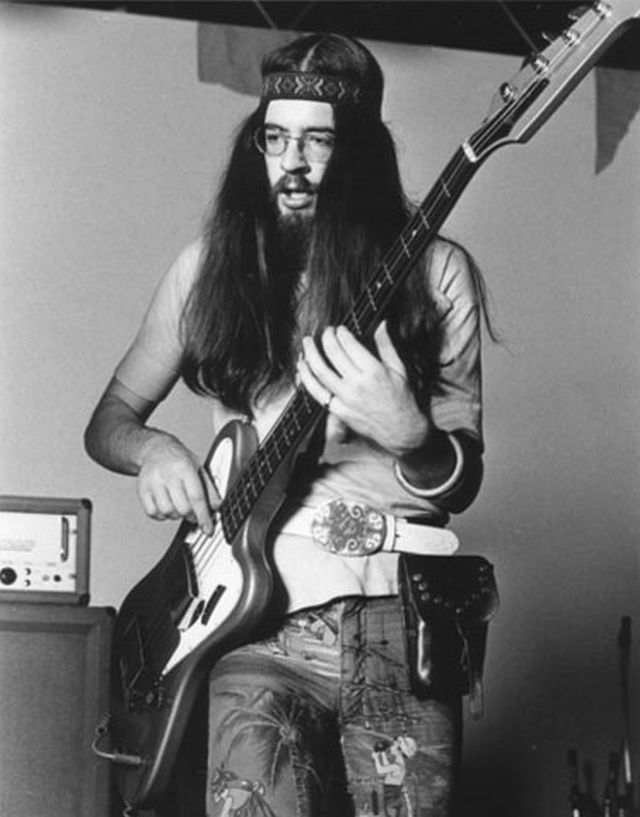 Jethro Tull's early bassist Glenn Cornick in 1971. He passed this week at the age of 67. (Photo courtesy of the Dutch Jethro Tull FanClub)