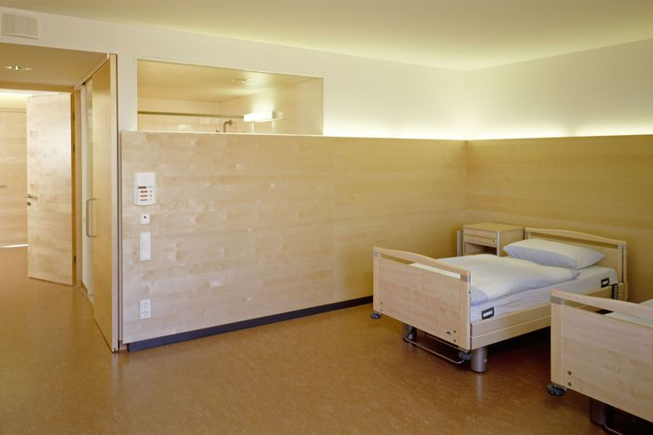 Image 9 of 15 from gallery of Nursing Home / Gärtner+Neururer. Photograph by Pia Odorizzi