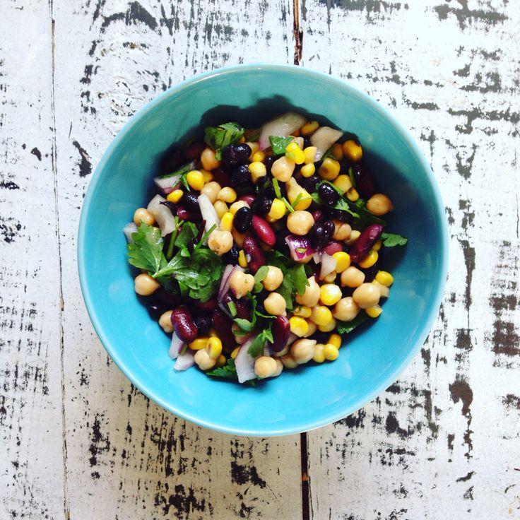 5 Bonen Salade lunch uit de Summer Detox