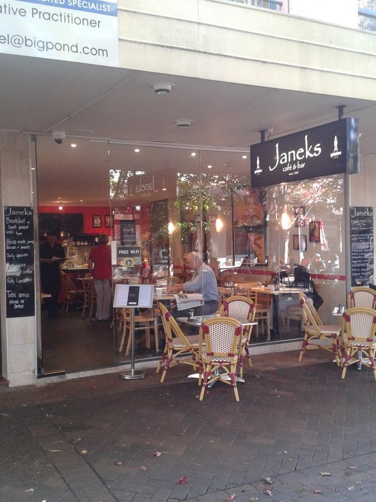 Janeks Cafe Bowral. I know it well!