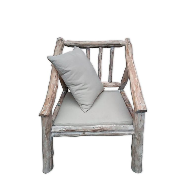 Armchair From Natural Backpack Oak With Pillow #homerecipegr