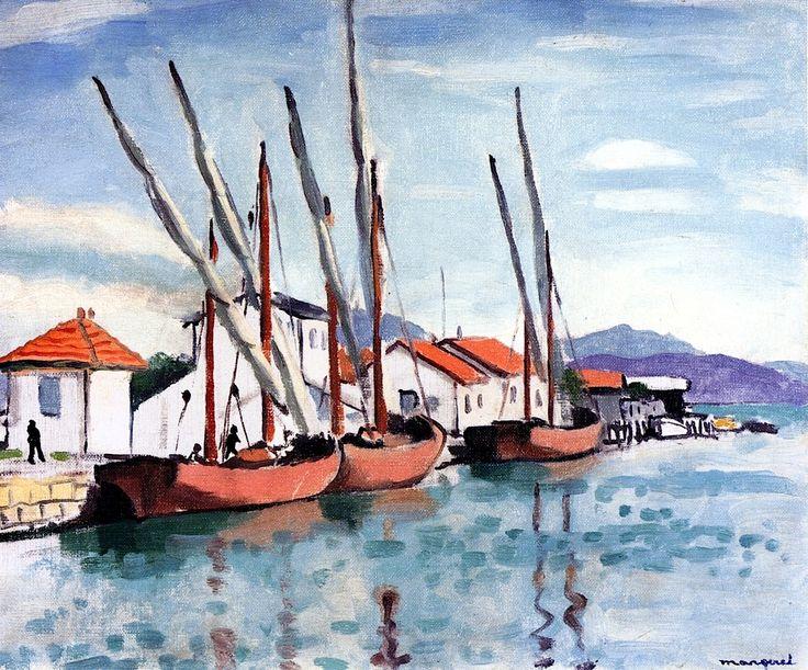 Fishing Boats Albert Marquet - 1926