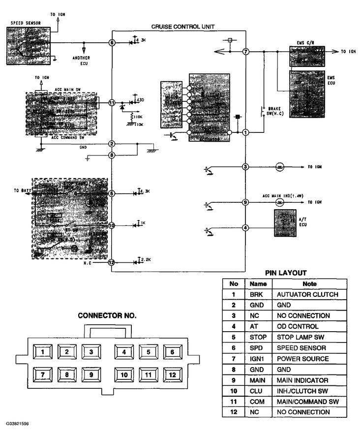 Fig  2  Cruise Control System Circuit Diagram
