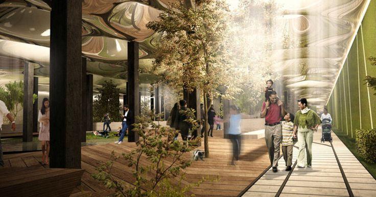 足を踏み入れるだけでワクワク。世界初の「地下公園」が誕生します! - Find Travel