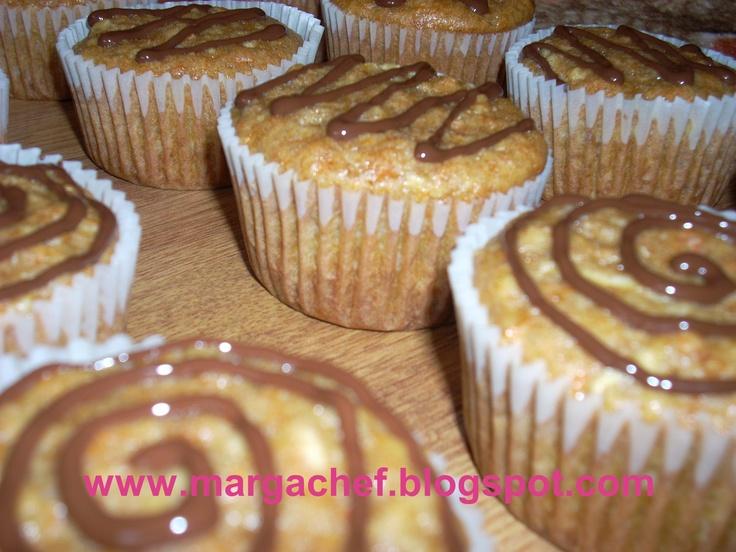 Apple and pumpkin muffins
