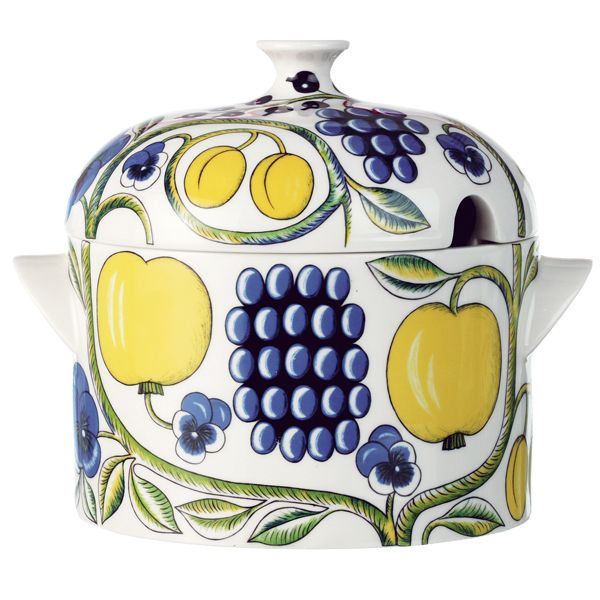 Arabia Paratiisi by Birger Kaipiainen, tureen with lid