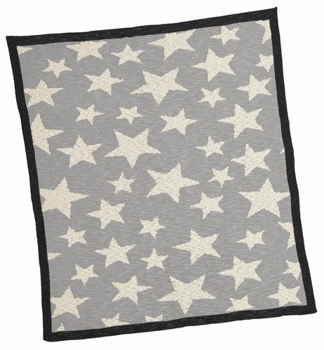 Made with care for little ones, Merben International soft natural Stars Baby Blanket is both comforting and a lovely keepsake.