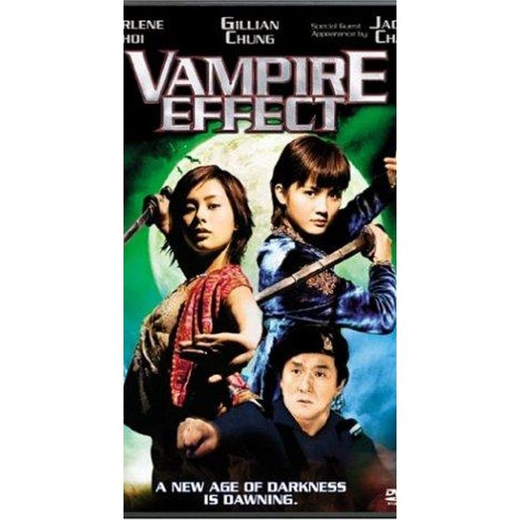 Vampire Effect Jackie Chan Charlene Choi DVD 2004 Arelight Films Like New