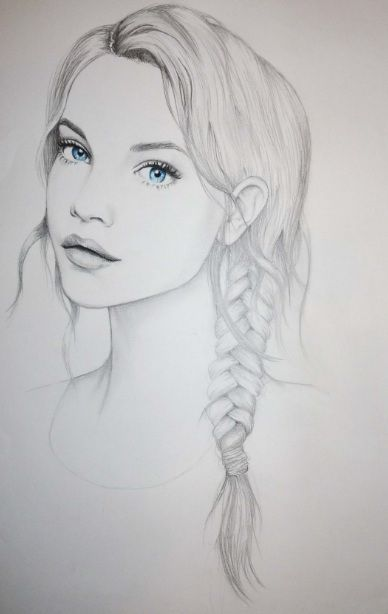 barbara palvin, blue eyes, drawing, fashion illustration - inspiring picture on Favim.com
