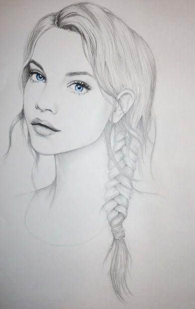barbara palvin, blue eyes, drawing, fashion illustration - inspiring picture on Favim.com