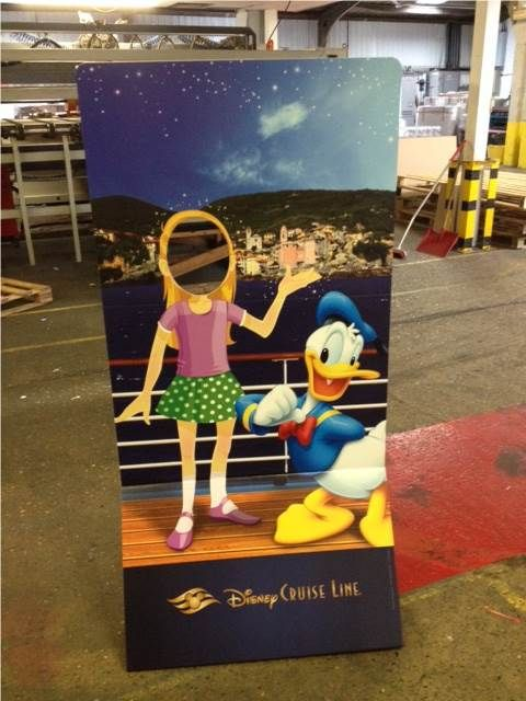 Ship ahoy with Donald Duck