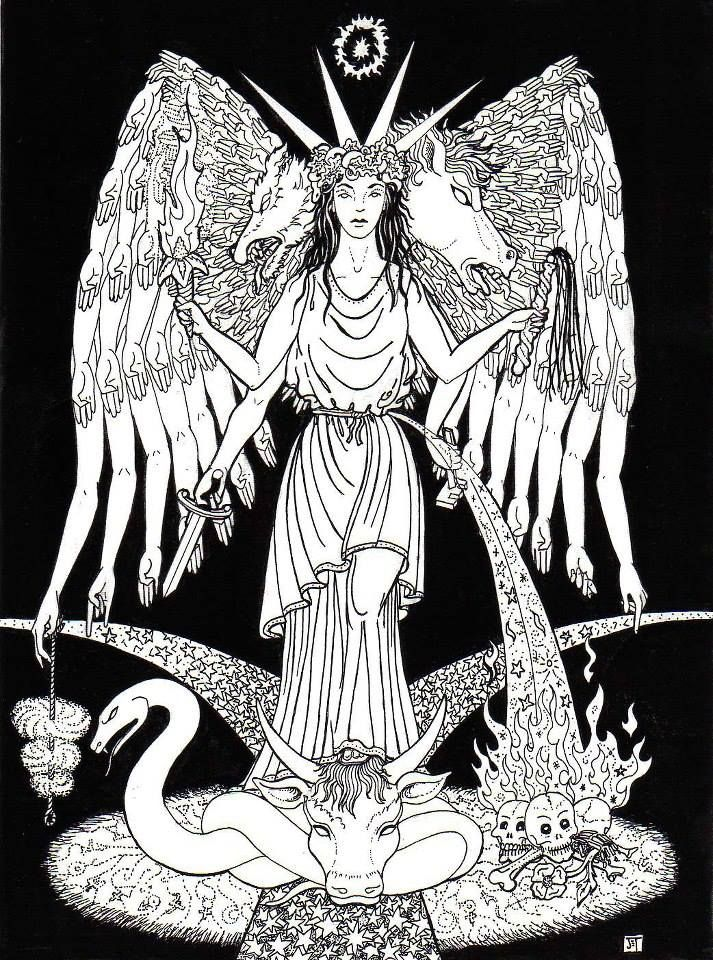 37 Best Hecate Images On Pinterest Hecate Goddess Goddesses And