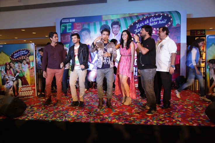 At the music launch of Chashme Baddoor
