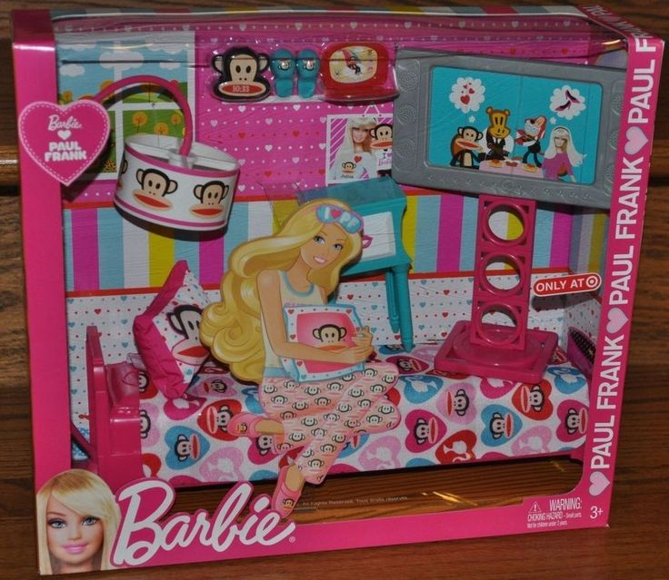 Paul Frank Bedroom In A Box: 276 Best Images About Barbie House And Accessories On