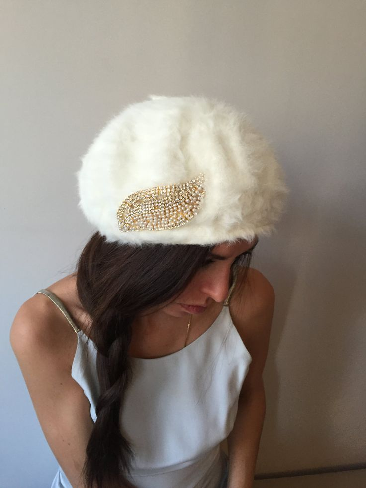 Winter Wedding Beanies by HELIXSIS on Etsy