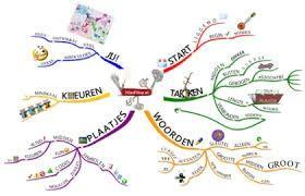 Voorbeeld van een mindmap!